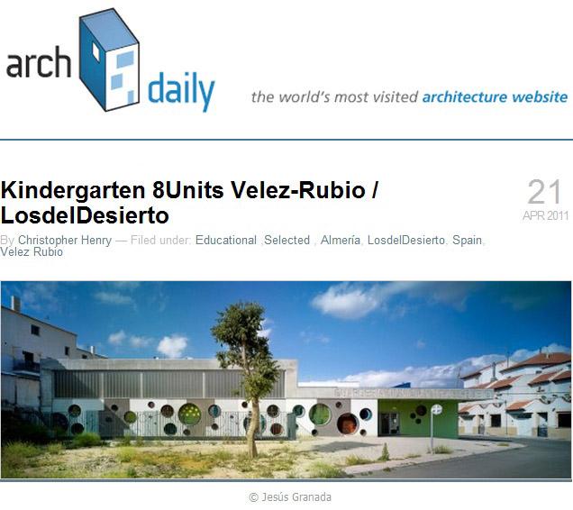 Guardería de Vélez-Rubio I Kindergarten 8 units Velez-Rubio en ArchDaily.com
