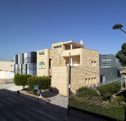 CENTRO DE SALUD EN VÉLEZ-RUBIO. HEALTH CENTER in Velex-Rubio. Almeria. Spain