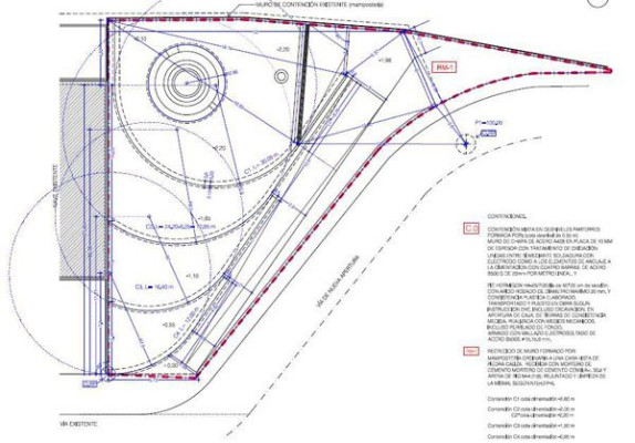 Jardín de Ondas. Ordenación y adecuación del entorno de la Fuente de Alhadra
