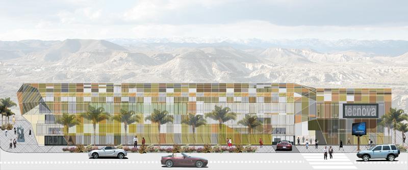 Centro de Transferencia Tecnológica en el parque científico tecnológico de Almería [PITA + TECNOVA] Concurso LosdelDesierto