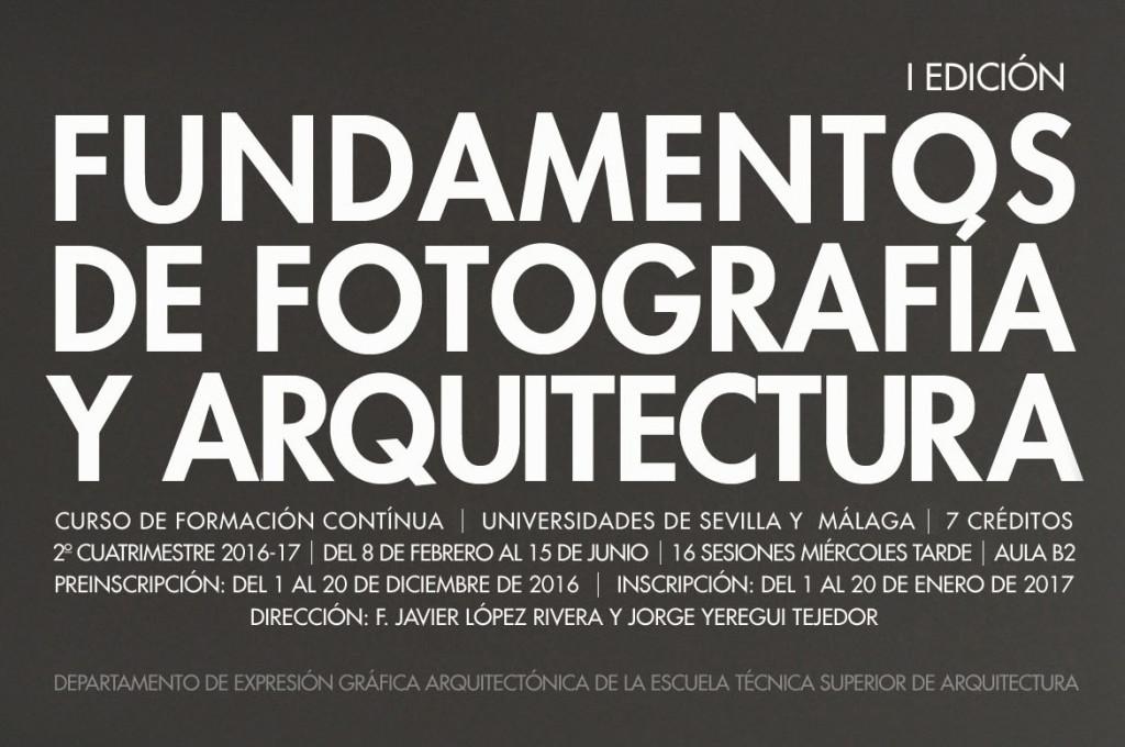 Conferencias lectures losdeldesierto - Escuela tecnica superior de arquitectura sevilla ...