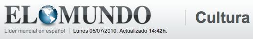 Españoles premiados en Europa. Elmundo.es / Cultura