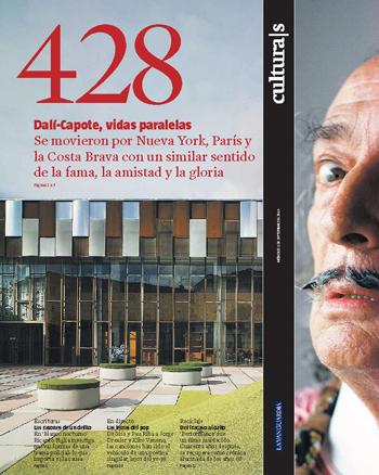 Filosofía del desierto. 428 Cultura|s La Vanguardia n.428 / Miércoles 1 septiembre 2010 ESPACIOS