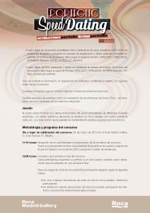 Bases del concurso PORTFOLIO SPEED DATING organizado por ROCA GALLERY MADRID y comisariado por Brijuni Arquitectos (Francisco Casas + Beatriz Villanueva)